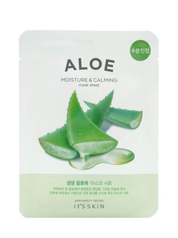 aloe mask sheet its skin