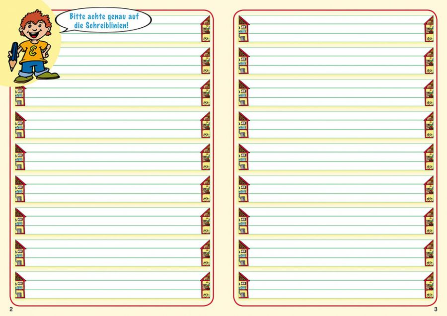 Mit Elbi Schreiben Lernen Klasse 1 Hochformat Schnschreib