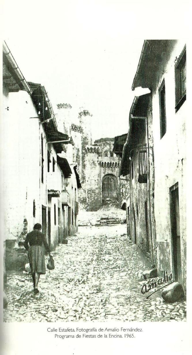 Calle Estafeta en Ponferrada