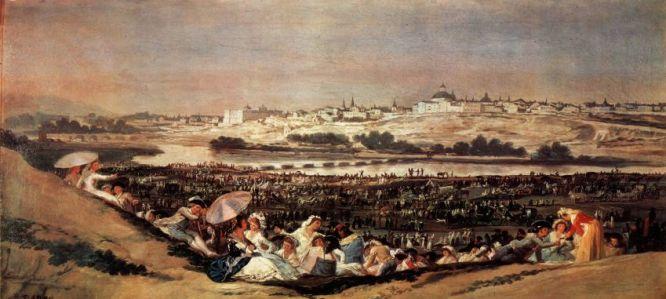 La Pradera de San Isidro, F. de Goya