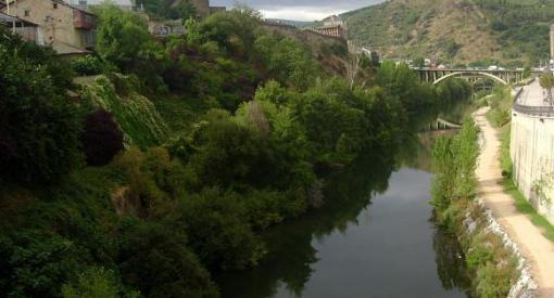 paseo del río