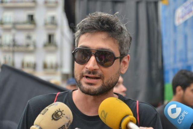 Amadeo Gutiérrez, portavoz de la Asamblea