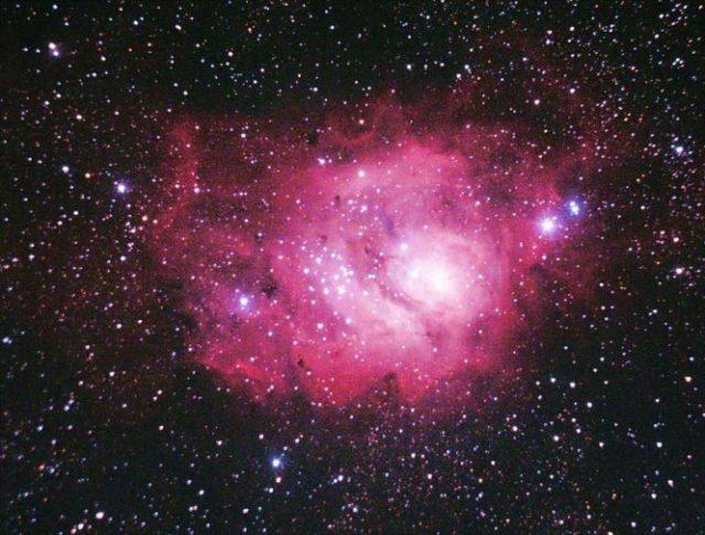 Otra de las miles de imágenes de cuerpos celestes que componen el archivo de Valero. / EBD