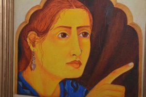 Una de las obras de la exposición Women by women. / QUINITO