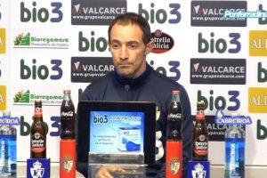 Imagen del entrenador de la Ponferradina, Pedro Munitis, de este martes. / Ponferradina