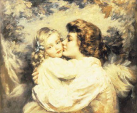 beso2 - La maternidad verdadera