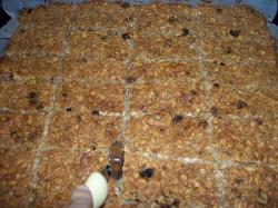 barritas cortar - Barritas de cereales sanas