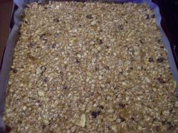 barritas horno - Barritas de cereales sanas