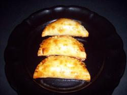 empanadilla de champinones 7 - Empanadillas al horno de champiñones, queso de cabra y tomillo