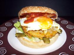 hamburguesa22 - Hamburguesa vegetal XXL