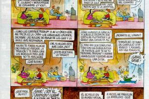 chiste belleza lectora grande - Chiste de Caloi sobre el culto a la belleza y el mundo virtual