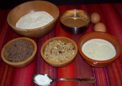 cookies ingredientes - Cookies de chocolate y nueces más sanas