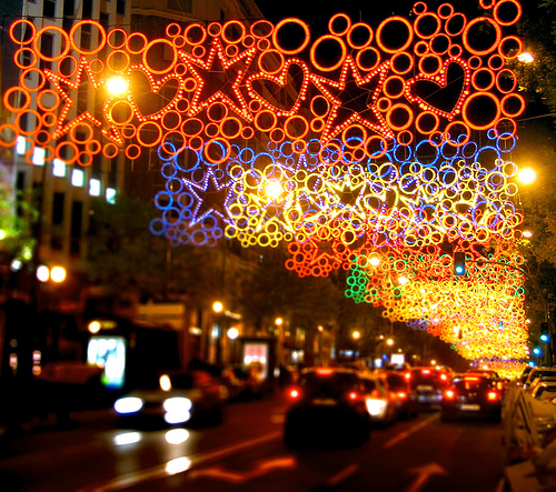 luces navidenas - Luces navideñas SÍ. Luces navideñas NO