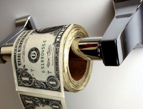 money wc - Desidia de algunas entidades financieras. Por Mayber