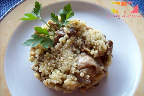 quinoa-con-setas