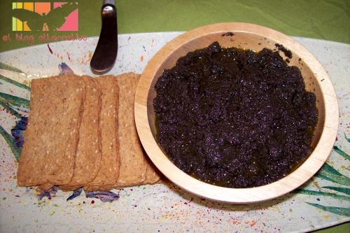 tapenade portada - Tapenade o paté de aceituna negras