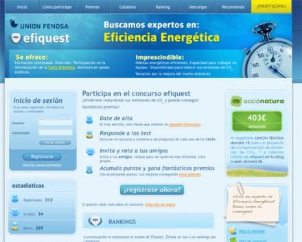 efiquest - Efiquest: concurso sobre eficiencia energética