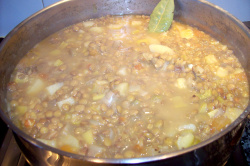 lentejas2 - Receta de lentejas vegetarianas al jengibre