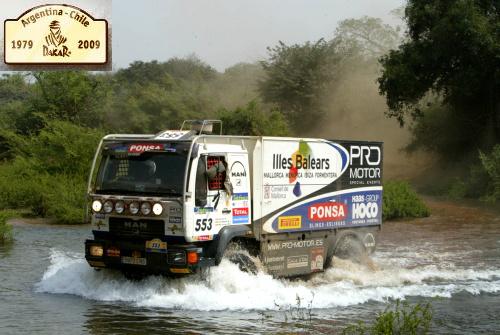 rally dakar 2009 - Rally Dakar 2009