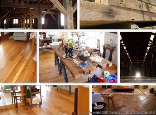 reciclado de madera - Reciclado de madera para la construcción. 10 ideas para tu casa ecológica 10