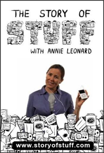 story of stuff button - La historia de las cosas - The story of stuff. ¿Cómo funciona nuestro mundo?
