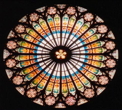 vidriera-gotica