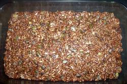 barritaschocolate fuente - Barritas energéticas con semillas y chocolate