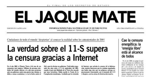 jaque mate - EL JAQUE MATE: informaciones para materializar un nuevo mundo
