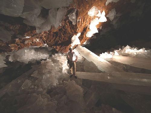 naica2 - Los cristales gigantes de Naica y su poder energético