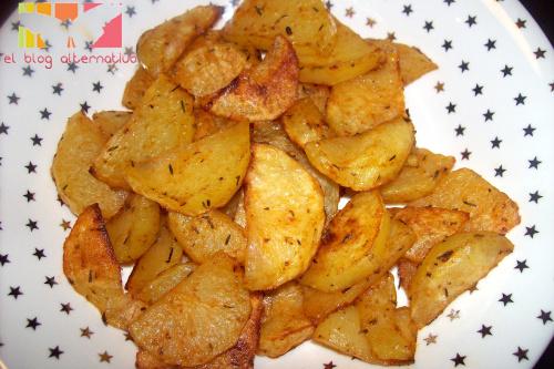 patatashorno portada - Patatas al horno a las hierbas