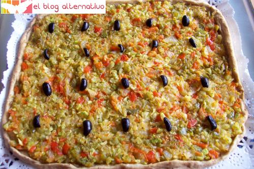 pizza verduras portada - pizza integral de verduras