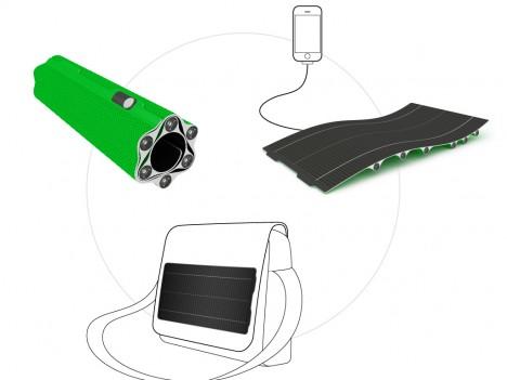 sunlight esquema - sunLight: cargador solar, almacén de energía y linterna todo en uno