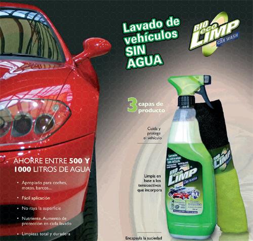 bio eco limp carwash - Bio Eco Limp Carwash: limpiar vehículos sin necesidad de agua