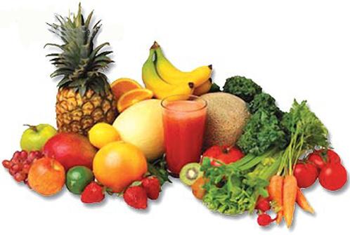 frutas y verduras - frutas y verduras