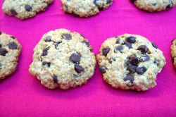 galletas avena frente - Galletas de avena y chocolate