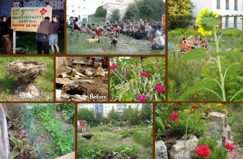 guerrilla gardening - Los guerrilleros de la jardinería
