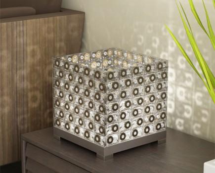 lampara-casettes reciclados