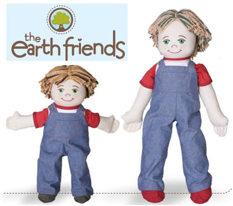 munecos-ecologicos the earth friends