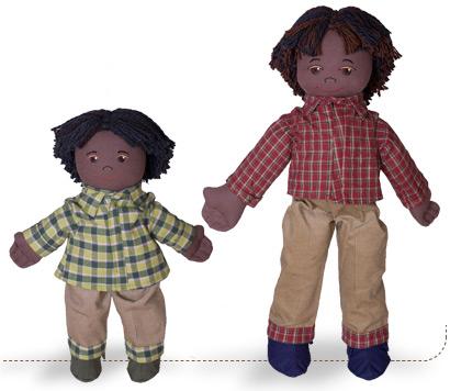 munecos ecologicos - The Earth Friends: muñecos ecológicos