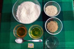 pan avena ingredientes - pan integral de avena y semillas casero