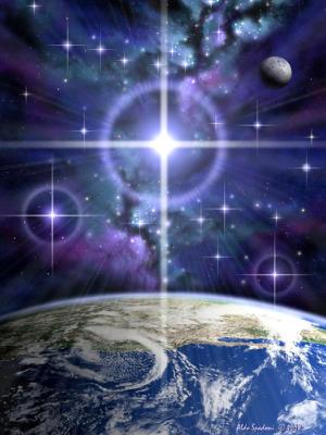 """peace on earth spadoni - """"Ya no es tiempo de orar sino de traer el Paraíso a la Tierra"""" por Domingo Díaz"""