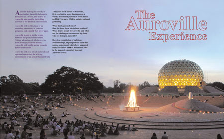 auroville experience cover - auroville-