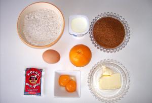 bizcochitos ingredientes - Bizcochitos de naranja de mi madre