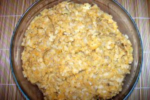 croquetas arroz masa - Croquetas de arroz y lentejas rojas