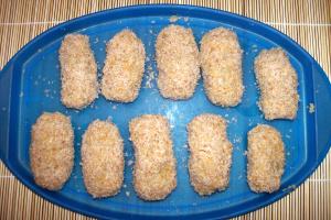 croquetas arroz sin freir - Croquetas de arroz y lentejas rojas
