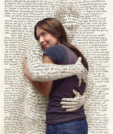 libro abrazo - El abrazo de los libros: DIA DEL LIBRO 2009