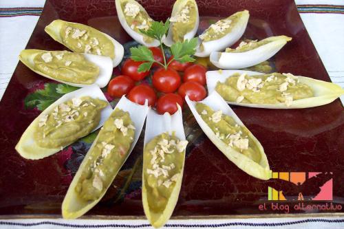 endibias-rellenas de guacamole