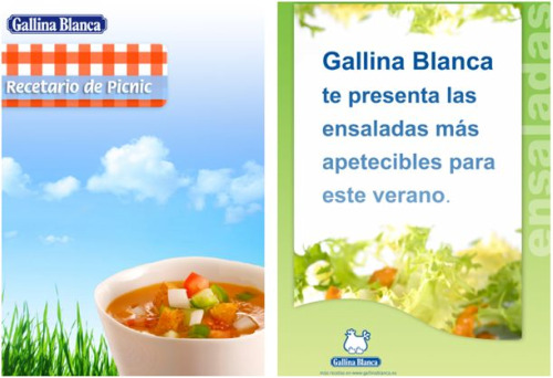 gallina blanca - Recetarios de picnic y ensaladas de verano en pdf