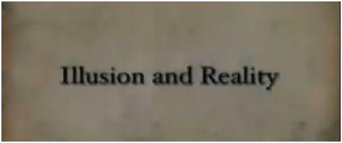 ilusion realidad - la realidad es una ilusion