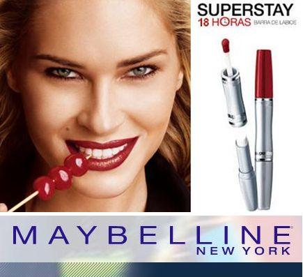 maybelline barras de labios 18 horas